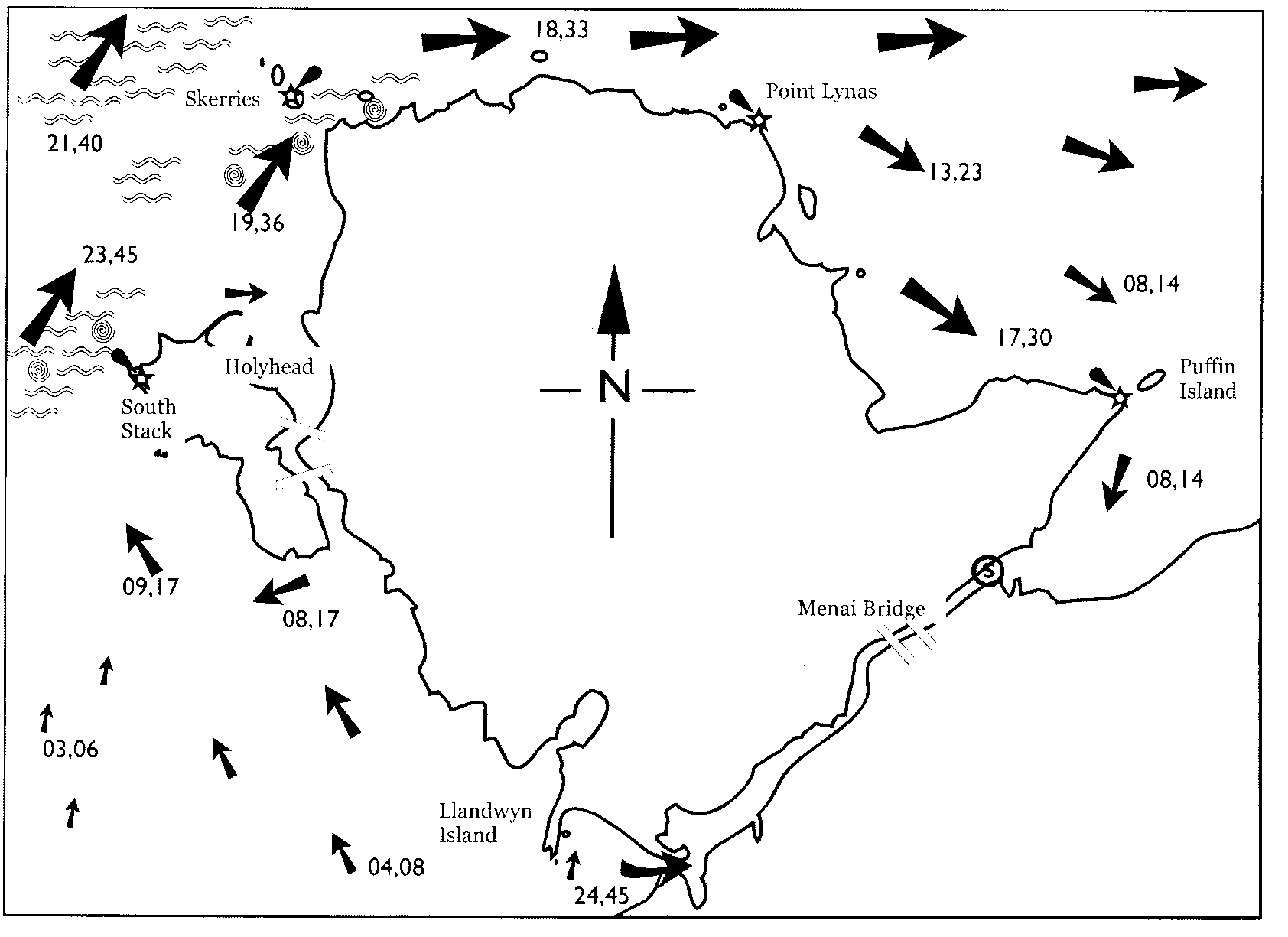 hw dover 3 - Tide Flow Chart